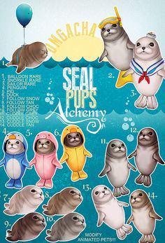 Alchemy - Seal Pups - Key | Flickr - Photo Sharing!