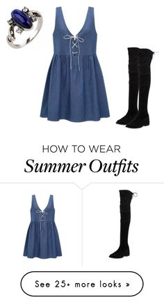 """Summer outfit 18"" by adelineojeda on Polyvore featuring Stuart Weitzman"