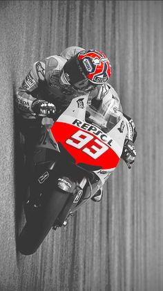 Marc Marquez - Youngest ever MotoGP World Champion. Gp Moto, Moto Bike, Motorcycle Bike, Marc Marquez, Soichiro Honda, Side Car, Racing Motorcycles, Super Bikes, Street Bikes