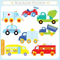 Truck Border Clip Art | Request a custom order and have something made just for you.