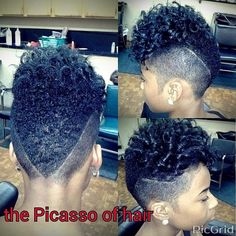 The Picasso of hair                                                                                                                                                                                 More