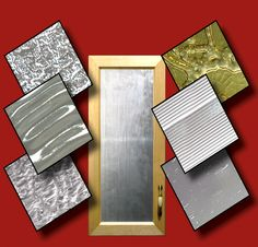 """Offered in more than 100 different designs in both tempered and non-tempered 1/8"""" thick formats, Outwater's Decorative Glass Door Inserts can be customized to fit your needs."""