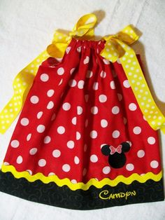 minnie mouse dress! i could do this!