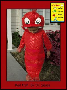 Red Fish - Dr Seuss Costume Ideas