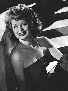 Lucille Ball – 1945 USA