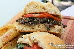 Receitas de Sandubas: Sanduíche de Carne com Chimichurri, para ver a receita, clique na imagem para ir ao Manga com Pimenta.