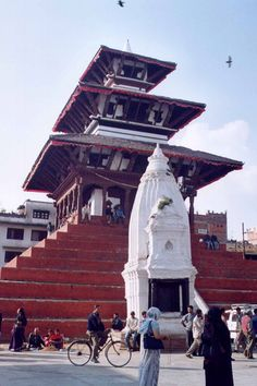 Nepal - Kathmandu, Maju Deval temple