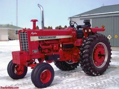 Open-station wide front Farmall 1026.