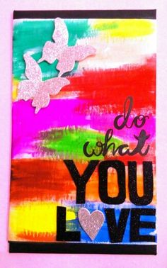#Diy #Dowhatyoulove #canvas #art
