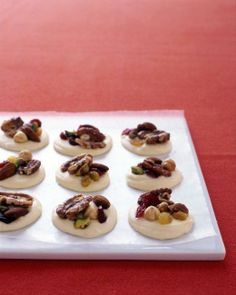 White-Chocolate Clusters with Fruit and Nuts Recipe