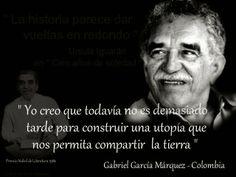 """Eduardo Galeano: Gabriel García Márquez """"vivo seguirá mientras sus palabras vivan y rían y digan"""""""