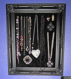 GIY: Goth It Yourself: Easy and Inexpensive DIY Jewelry Display