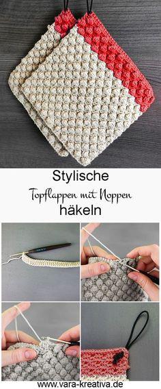 84 Besten Topflappen Häkeln Bilder Auf Pinterest Crochet Hot Pads