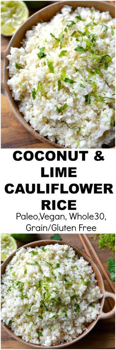 Healthy Rice, Healthy Side Dishes, Healthy Eating Recipes, Vegetable Recipes, Baby Food Recipes, Paleo Recipes, Cooking Recipes, Healthy Eats, Paleo Food