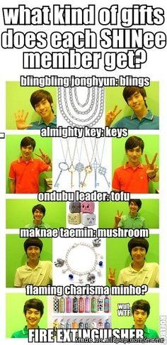 What to gift SHINee:) Meme Center | allkpop
