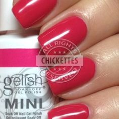 Gelish All Dahlia-ed Up - Love in Bloom Collection Swatch