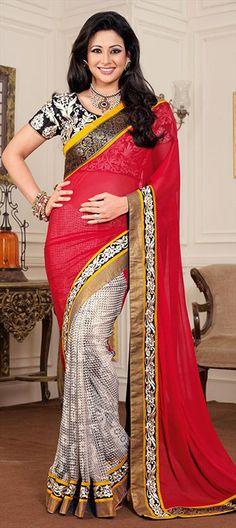 126787: Bollywood actress PREETI JHANGIANI in saree. #GetThisLook #Saree