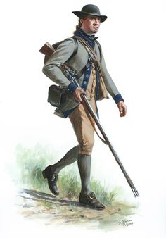 Continental Army- 4th New York Battalion- Private - Fall of 1775 at Fort Ticonderoga