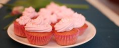 Try our new light pink cupcakes recipe!