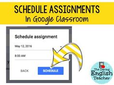 Scheduling assignmen