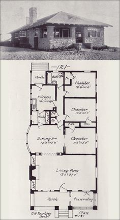 Vintage house plans 1900s on pinterest radford western for Western homes floor plans