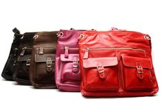 Genuine leather handbags on sale. Take an additional 20% off listed price. Sale Price: $63.20 CAD