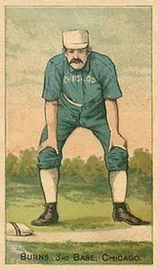 1887 Buchner Gold Coin (N284) #NNO Tom Burns Front