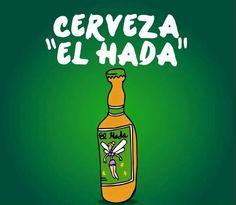 """Cerveza """"el hada"""""""