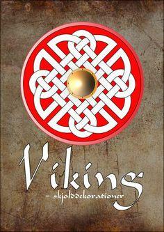 Viking - skjolddekorationer