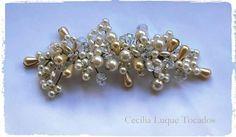 Guia de perlas y cristales Novias, Bodas, Tocados