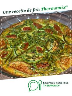 Clafoutis de légumes par DELPH37. Une recette de fan à retrouver dans la catégorie Plats végétariens sur www.espace-recettes.fr, de Thermomix<sup>®</sup>.