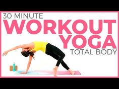 30 minute Power Yoga Workout 🔥 Total Body Yoga Workout 🔥 – Exercises and Fitness 30 Minute Yoga, 30 Minute Workout, Quick Weight Loss Tips, Yoga For Weight Loss, Total Body, Yoga Sequences, Yoga Poses, Fat Burning Yoga, Yoga With Adriene