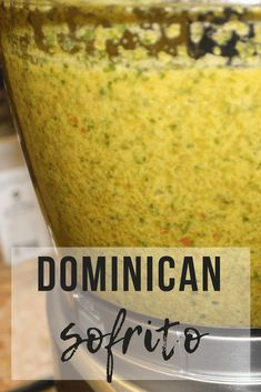 Dominican Sofrito (Sazon Dominicano) - - Have you been looking for an authentic Dominican Sofrito (sazon) recipe? I have my Mother in Law's recipe. My Mother in Law is from the Dominican Republic. Sofrito Recipe Dominican, Easy Sofrito Recipe, Dominican Recipes, Puerto Rican Recipes, Cuban Recipes, Dutch Recipes, Clean Eating Challenge, Side Dishes, Cooking