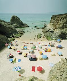 Praia Pequena, Sintra, Portugal by Christian Chaize.