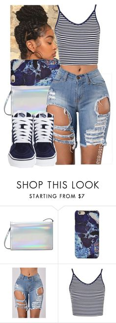A fashion look from July 2017 featuring jersey shirt, blue shorts and vans sneakers. Browse and shop related looks. Lit Outfits, Dope Outfits, Spring Outfits, Trendy Outfits, Urban Fashion, Teen Fashion, Fashion Outfits, Teenager Outfits, College Outfits