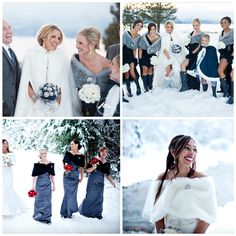 Baby, It's Cold Outside! « Wedding Ideas, Top Wedding Blog's, Wedding Trends 2014/Winter Weddings/Winter Wedding Coats/Winter Wedding Jackets – David Tutera's It's a Bride's Life