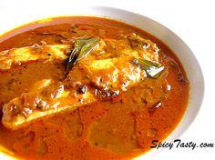How to prepare Spicy Fish Kuzhambhu? Prawn Recipes, Curry Recipes, Fish Recipes, Seafood Recipes, Indian Food Recipes, Asian Recipes, Vegetarian Recipes, Cooking Recipes, Spicy Recipes