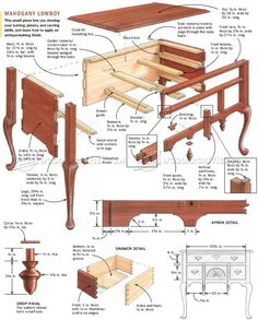 Lowboy Plans - Furniture Plans