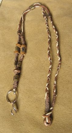 how to make a braided lanyard necklace