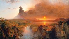 Frederic Edwin Church (1826-1900), a noted American landscape painter.