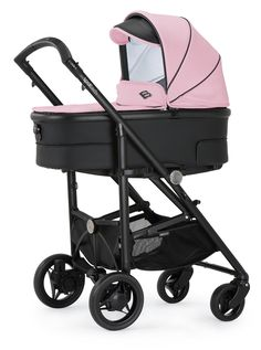 Bebecar SpotTech in Pink Shadow.  The new SpotTech is the only pushchair you'll ever need. It combines the compact folding of a lightweight stroller with the comfort of a luxury pram.