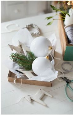 bauble bright with neutral tones