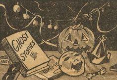 Vintage Halloween Illustration at DuckDuckGo Retro Halloween, Halloween Town, Halloween Prints, Halloween Images, Halloween Horror, Halloween Cards, Holidays Halloween, Halloween 2018, Happy Halloween