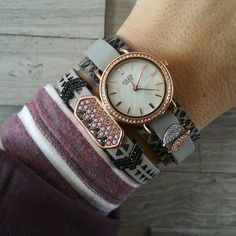 Keep Collective gray and rose gold