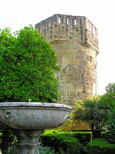 Córdoba - Alcázar de los Reyes Cristianos. Torre de la Inquisición.