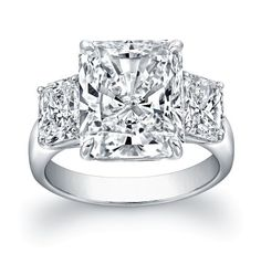 Radiant Cut Diamond Ring - Engagement Rings - Fine Jewelry