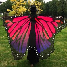 $9.11 Butterfly Wing Cape Scarf