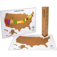 12 best USA Scratch off Map images on Pinterest | National parks map ...