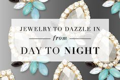 From Work to Play SALE ENDS Making your office outfit work for a night out with the girls can be as easy as adding the right accessories! We've curated just what you need to pull off a flawless day-to-night transition, so enjoy and keep on stylin'! Princess Jewelry, Diva Design, Office Outfits, Cool Items, Custom Clothes, Happy Shopping, Night Out, Fashion Accessories, Jewelry Design