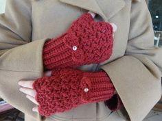 Εύκολα γάντια.... με βελονάκι! - YouTube Crochet Gloves, Crochet Poncho, Fingerless Gloves, Arm Warmers, Creative, How To Make, Youtube, Patterns, Fashion